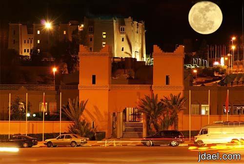 باب الصحراء واجمل صور مدينة ورزازات بالمغرب وروعة السياحه