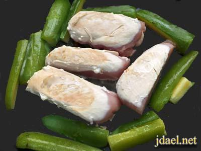 صدور دجاج بدون دهون وصوص يسد الشهيه