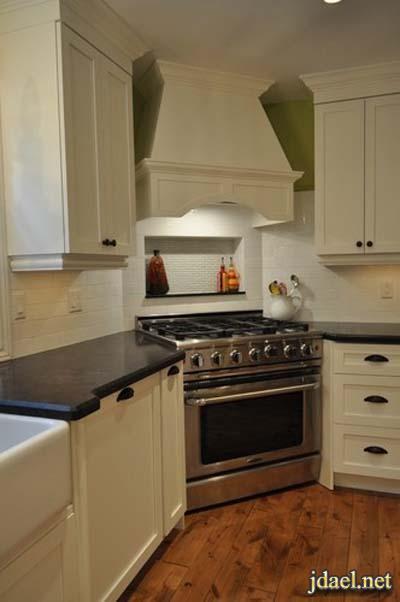 ديكور استغلال زوايا المطابخ بتصاميم مبتكرة خزائن المطبخ