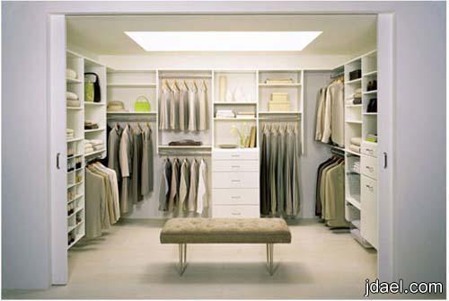 ديكورات خزانة الملابس بتصاميم خيال دولاب الملابس بافكار وتصميم راقي