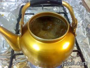 طريقة عمل قهوة قشر القهوه بخطوات سهله بالصور