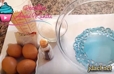 تحلية رمضان حلى كريم كراميل بدون فرن باستخدام البوتجاز