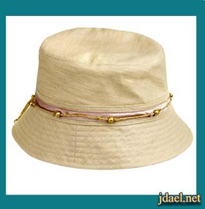 احلى قبعات الصيف باكسسوار الكروشيه والصدف للبنات الاطفال