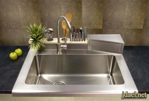 صور احواض مطابخ عصريه غير تقليديه بتصاميم مودرن