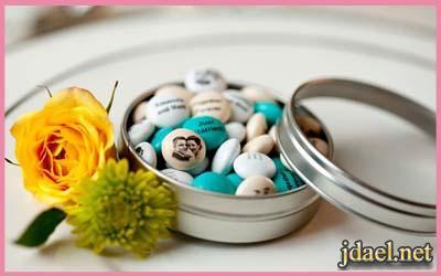 توزيعات وهدايا العروسه للضيوف ليلة الزفاف بافكار راقية