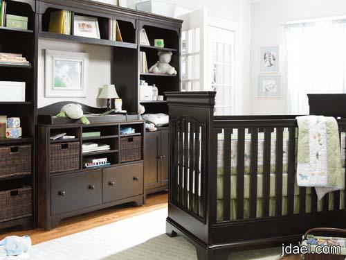 : سرير البيبي خشب : سرير