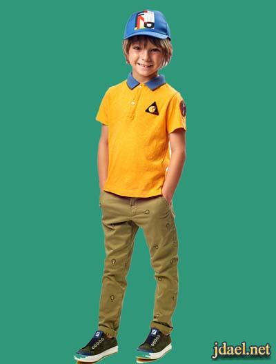 تشكيلة ملابس اطفال اولاد دار فندي بالوان الصيف