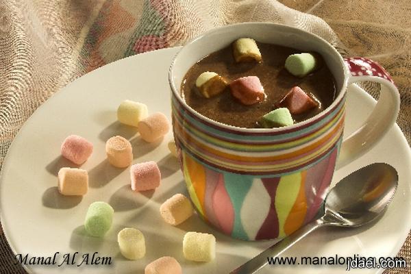 مشروب الشوكولاته بخدود البنات بطعم القرفه