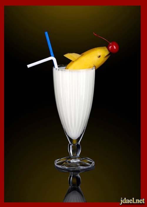 افكار عصريه تزيين المشروبات والعصير بطرق مبتكره بالصور