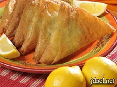بريوات بطاطس ناعمة وجبنة لافشكري بالطريقة المغربية