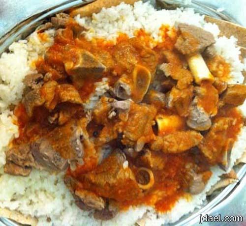 فته ولحمه ورز اكلت عيد الاضحى المبارك