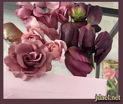تزيين علب الحلويات المستهلكه زوائد الشرايط والورد بالصور