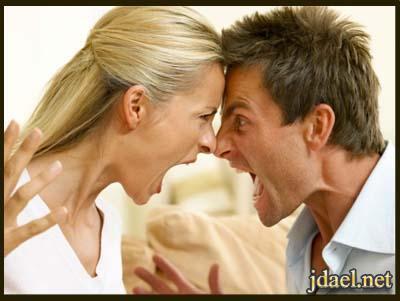تجنب العصبيه وحدة النقاش الزوج بافضل النصائح