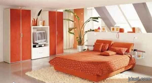 غرف نوم بديكورات حديثه 2013 احدث تصاميم غرف النوم وبالوان مختلفه