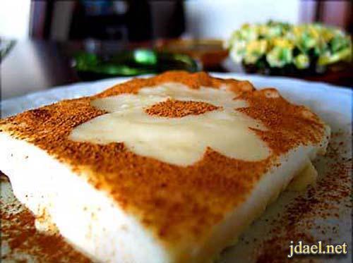 اغرب حلويات تركيا حلى صدر الدجاج التركي بالقرفة