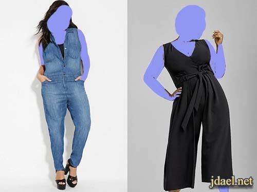 احلى ملابس 2017 للسمينات والجسم الممتلئ واناقة روعة للبدينات