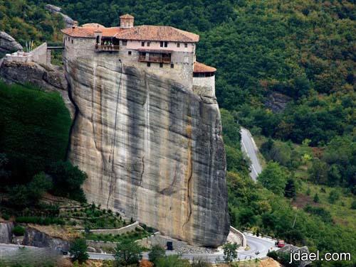 سياحه على مرتفعات مدينة ميتيورا باليونان صور للطبيعه اليونان