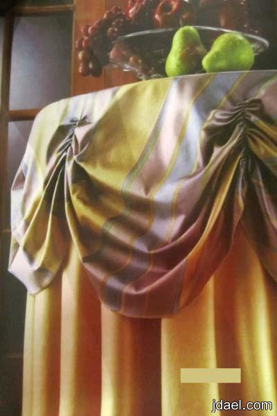 كيف تخيطين غطاء الطاولة العلوي المنفوخ