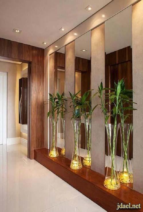 ديكورات ممرات مداخل غرف استقبال صالات للبيوت الراقية