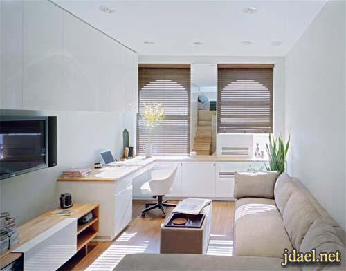 ديكور غرف جلوس وغرفة النوم الشقق الصغيرة صور ونصائح