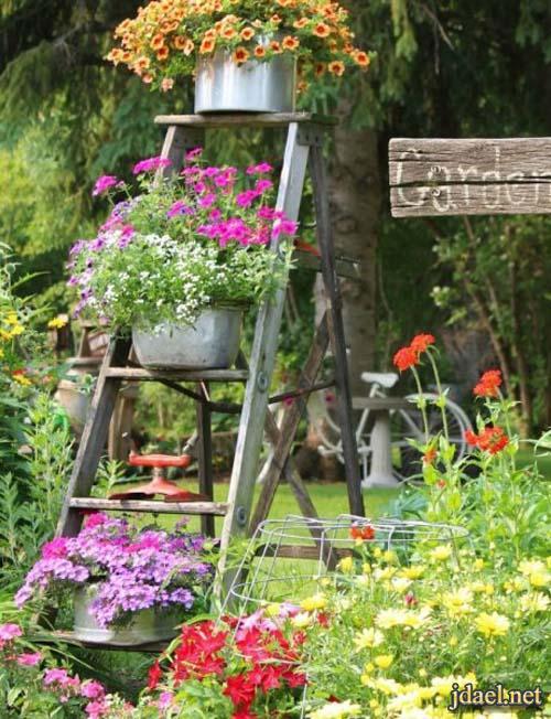 ديكورات وافكار جديدة خاصة لحدائق المنازل