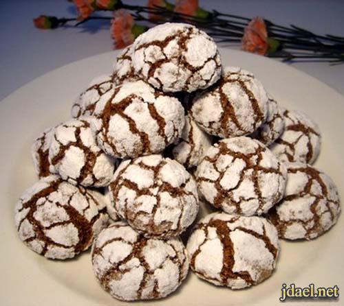 غريبة معلكة المطبخ المغربي حلوى الكاوكاو معلكة لعيد الفطر