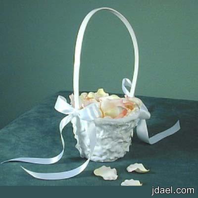 تزيين سلال الورد للعروسة بيدك باجمل الطرق والشكل