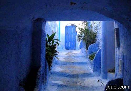 سياحه لعشاق التراث في بلاد المغرب جوله سياحيه في مدينة شفشاون شمال المغرب