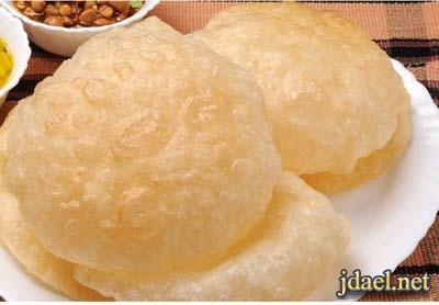طريقة عمل الخبز البوري المطبخ الهندي البيت وبيدك