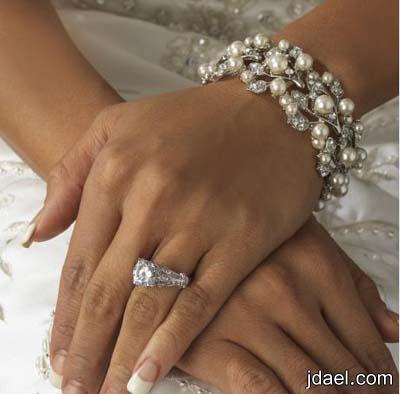 اساور للعروسه روعه احلا اكسسوار لسوار العروس ليلة الزفاف