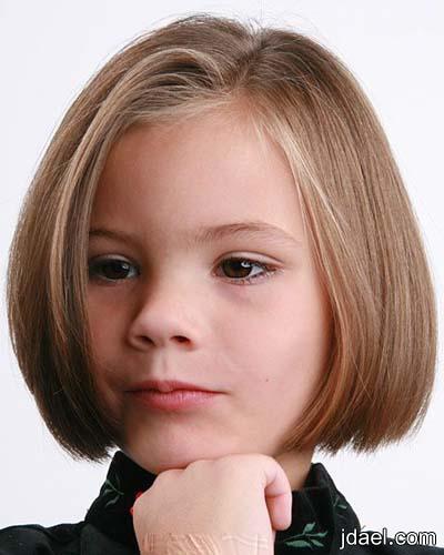 قصات شعر للبنوته واحلى تساريح للبنات الاطفال