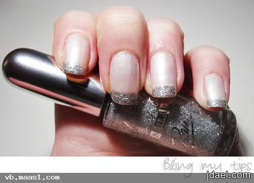 مناكير بالون الفضي الوان السهرات طلاء الاظافر وجمال يدك