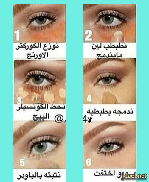فوائد برايمر العين وتطبيق الاي لاينر ووضع كنتور العين كالمحترفات