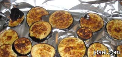 تحضير صينية بذنجان بالبشاميل بسعرات حراريه اقل وجبة رجيم