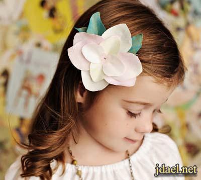 اكسسوار شعر للبنات وبكلات بيرم وفوينكات الشرايط بالوان الاطفال