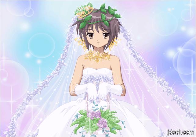 صور عرايس انمي حفلات زفاف انمي