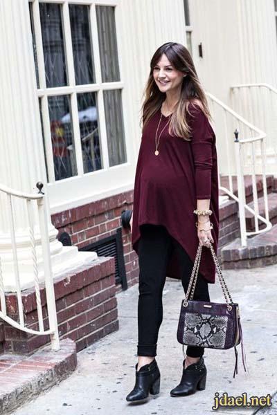 ملابس حمل لاناقة الحوامل شهور الحمل