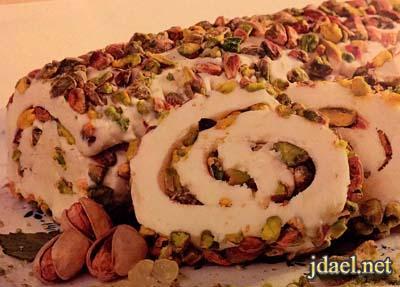 ايسكريم سكوبس ورول الورد بنكهات منوعه من حلويات سعد الدين