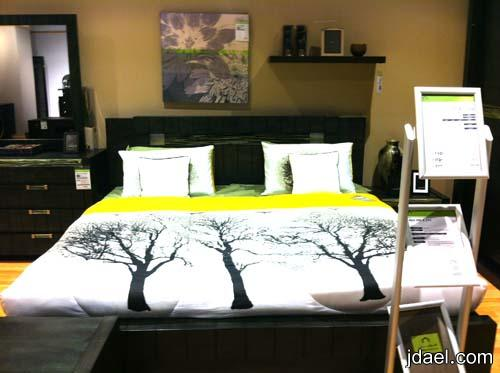 صور غرف نوم بأحدث الموديلات واجدد الاغطيه للسرير من هوم سنتر