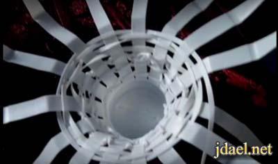صناعة سلال بلاستك للورد بيدك بطريقه سهله بالصور