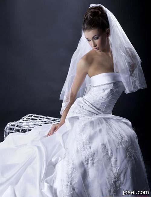 موديلات فساتين لعروسة 2013 مميزه للمصممه اللبنانيه مرلين ناشيف