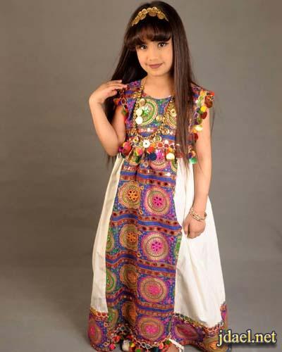 جلابيات عبايات فساتين ملابس اطفال بنات لاناقة رمضان