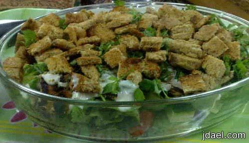 تحضير صدور الدجاج خلطة اللبن والخضار الطازجه وجبة دايت