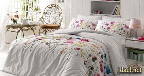 ديكور غرف نوم واغطيه سرير بتصميم مودرن