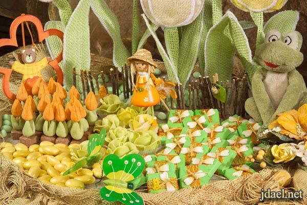 صور توزيعات وهدايا مواليد وافخم الحلويات والسكاكر وانواع الشوكولاته