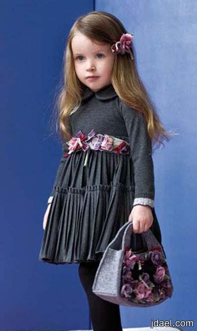 ملابس واكسسوارات شتويه اطفال بنات