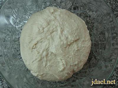 طريقة عمل خبز التنور الرائع بنكهات متعددة وسهلة بالصور