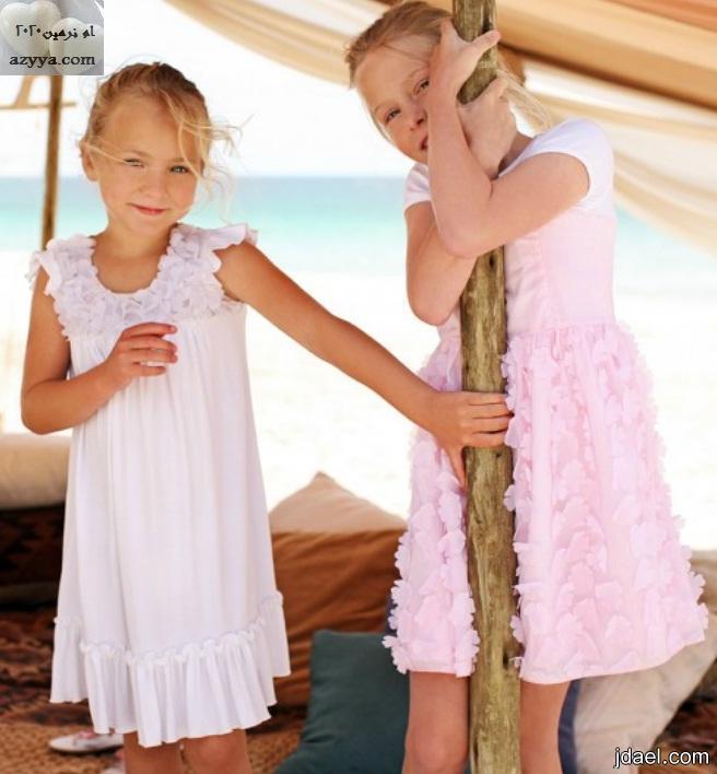 ازياء بنوتات صغيره ملابس صيفيه للاطفال بنات قمة الاناقه