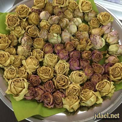 طريقة تجفيف الورد الطبيعي بدون تكاليف بالصور