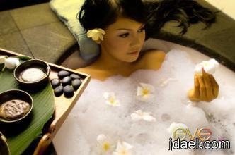 حمامات بالأعشاب لراحتك